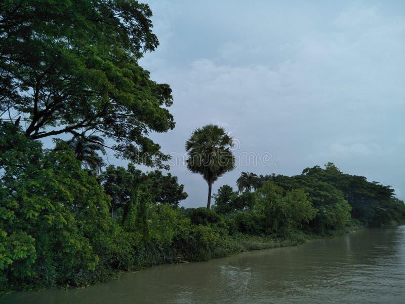 River side. Payra, patuakhali, bangladesh stock images