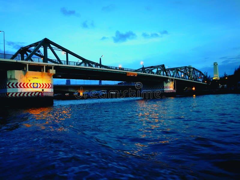 Buddhist bridge royalty free stock photos