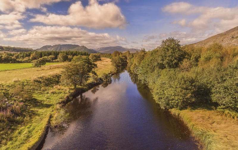 The River Spey stock image
