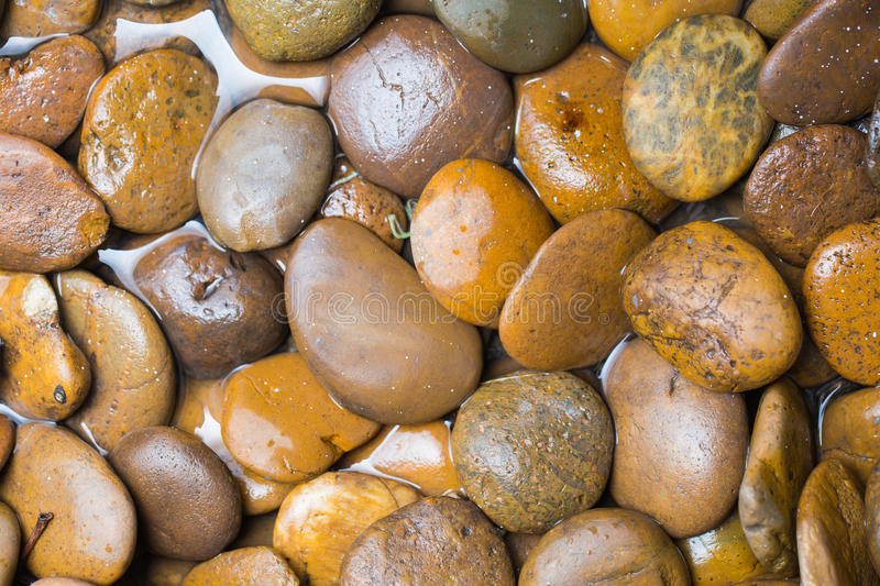 River stone, curve stone or round stone royalty free stock photo