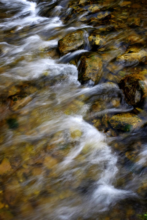 River Stream Flowing Mountains stock images