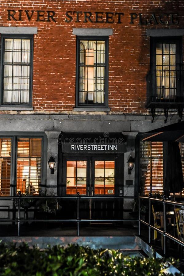 River Street Inn, Savannah, GA. royalty free stock image