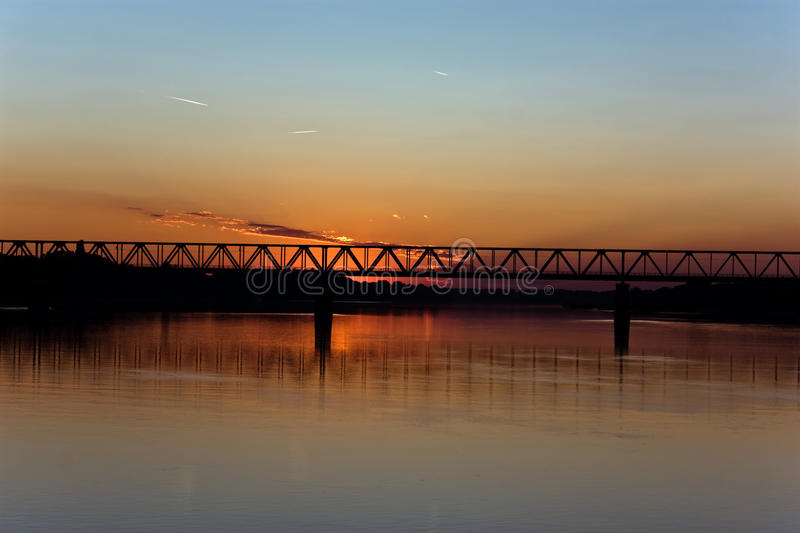 Download River in the sunset stock image. Image of wather, eventide - 11802009