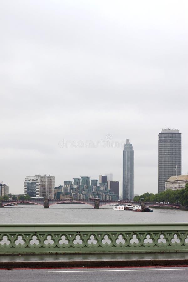 River Thames stock photo