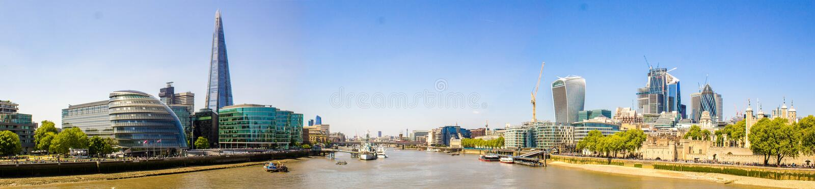 River Thames View royalty free stock photos