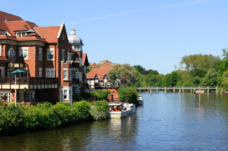 The River Thames at Windsor stock photography
