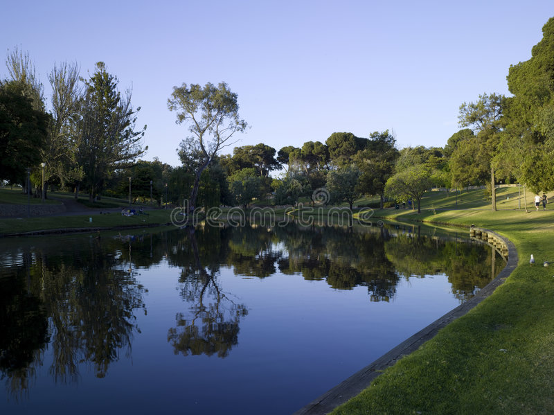 River Torrens stock image