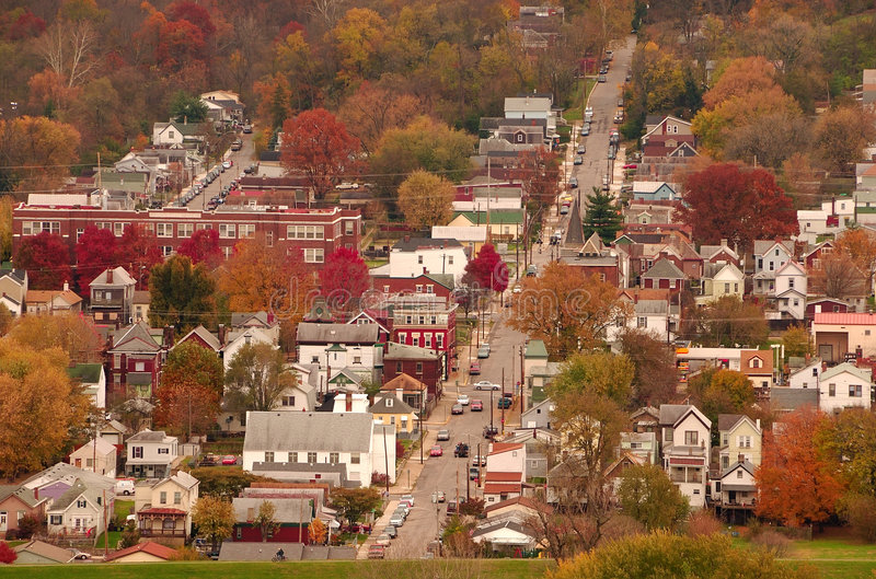 River Town USA stock image