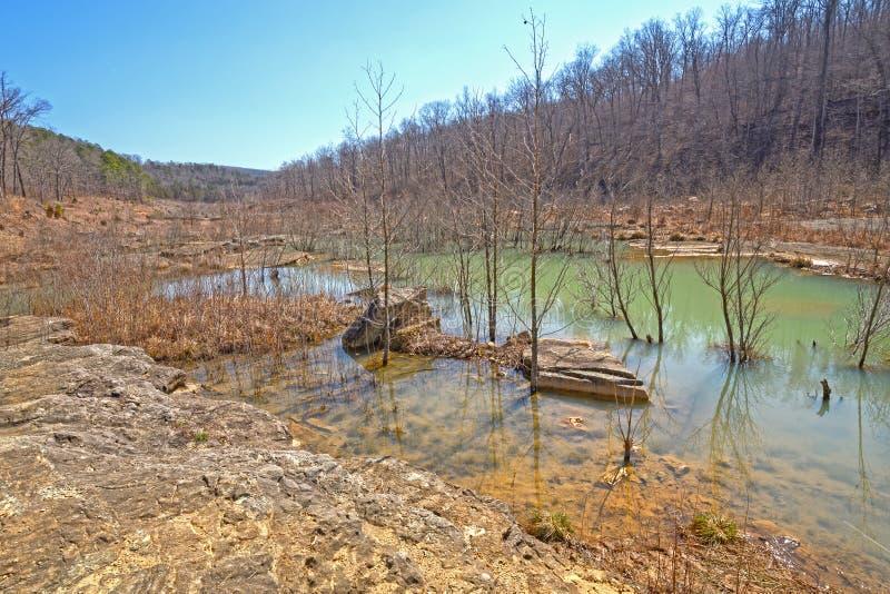 River Valley после потока стоковое фото rf
