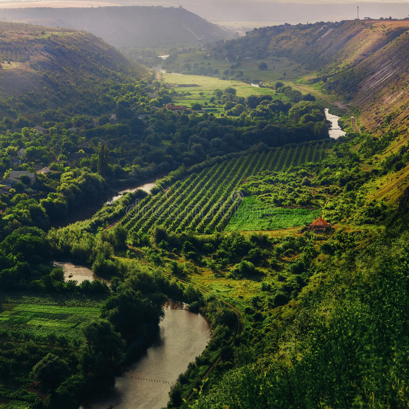 River Valley lizenzfreies stockbild