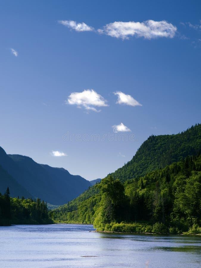 River Valley sikt royaltyfri fotografi