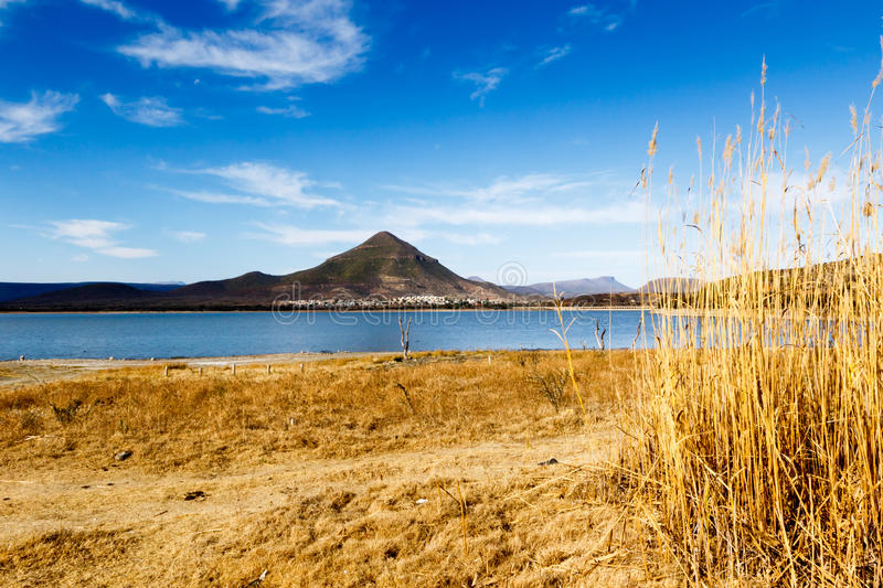 The River View - Graaff-Reinet Landscape royalty free stock image