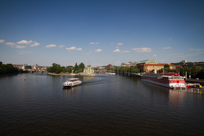 Download River Vltava In Prague Royalty Free Stock Images - Image: 33380339