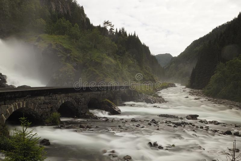 River, Waterfall, Rapid, Highland stock photos