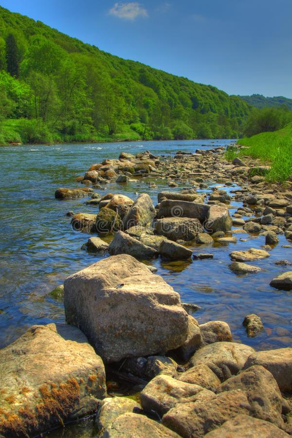 Download The River Wye - Wye Valley - England/Wales Royalty Free Stock Images - Image: 14617189