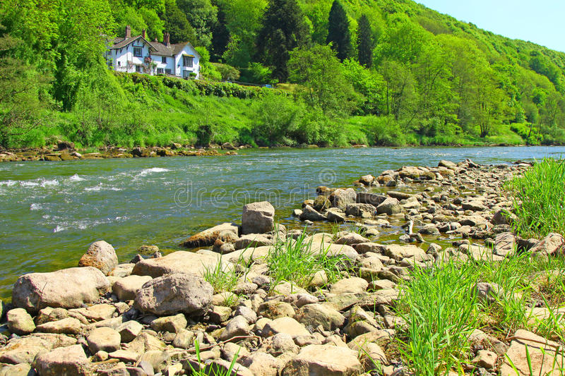 Download River Wye - Wye Valley  - England/Wales Stock Photo - Image: 15124206