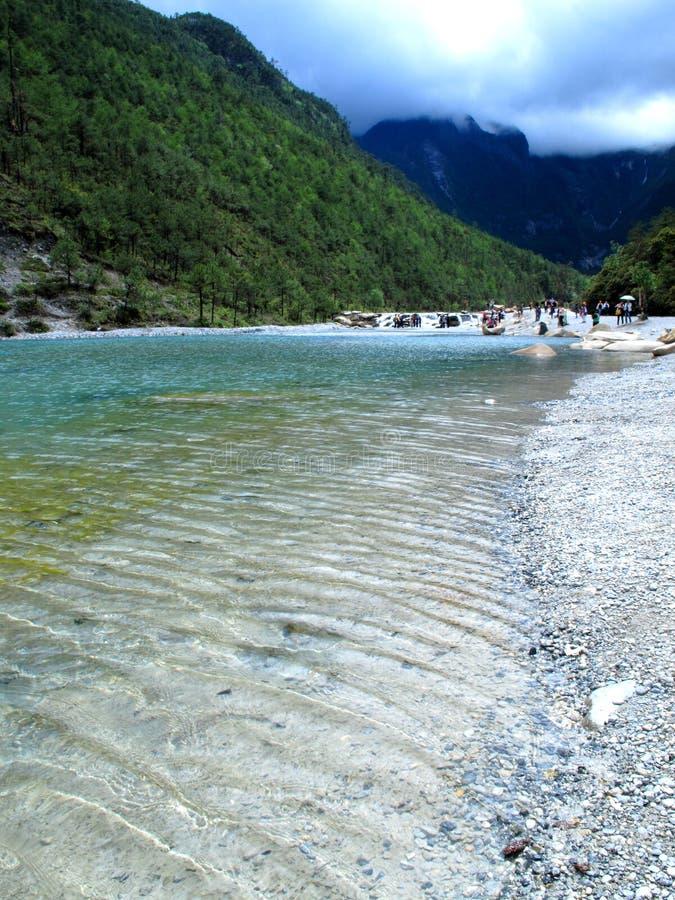 Free River - Yunan White Water River Royalty Free Stock Photography - 14852387