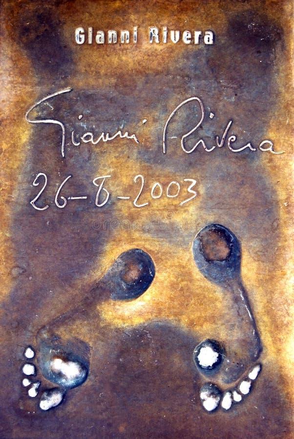 rivera s ιχνών στοκ εικόνα