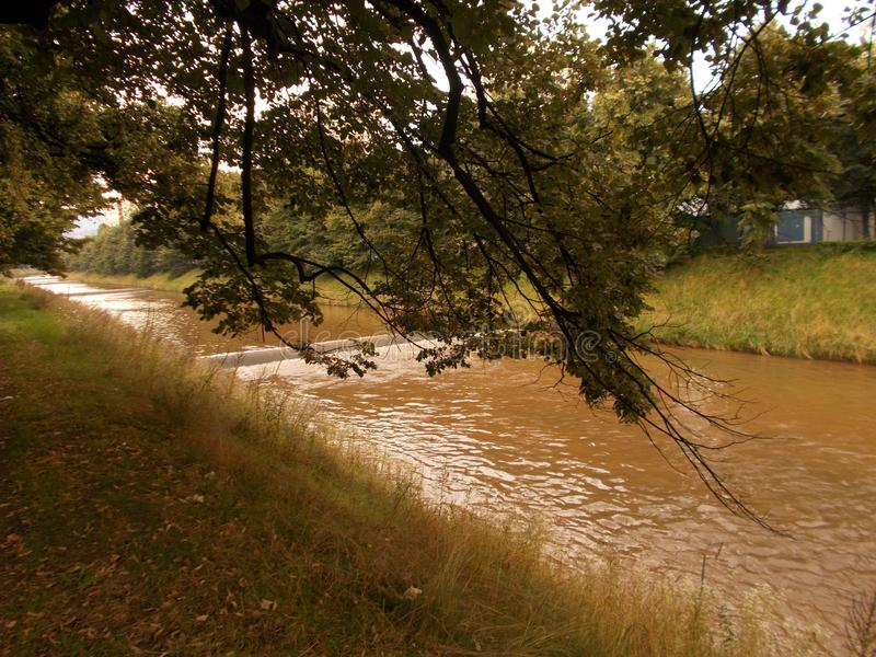 riverbanks fotografia stock