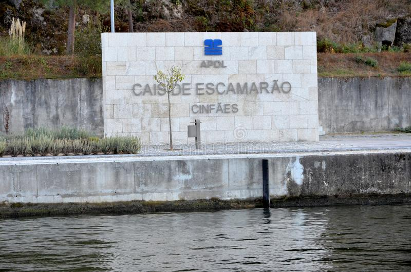 Riverbanks of Douro royalty free stock image