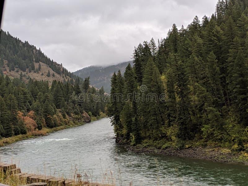 Riverbanks By Road immagini stock libere da diritti