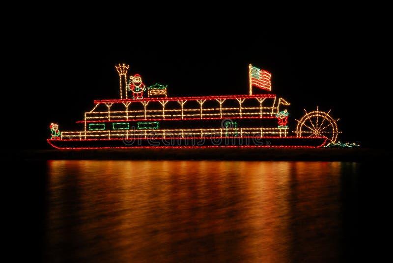 riverboat arkivbilder
