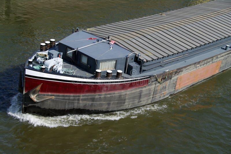 Riverboat no rio foto de stock