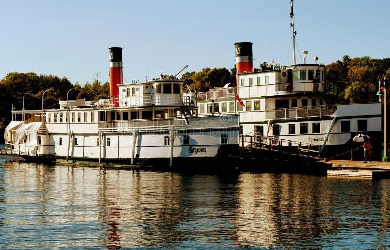 Riverboats royalty free stock photos