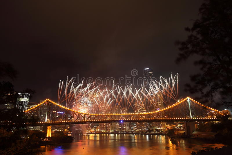 Download Riverfire Festival In Brisbane Editorial Stock Image - Image: 28081739