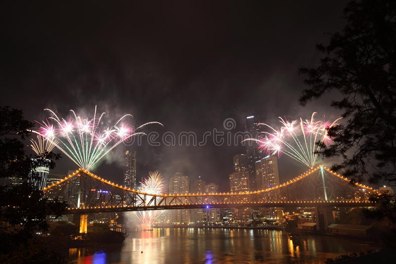 Riverfire Festival In Brisbane Editorial Stock Image