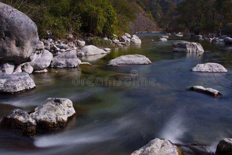 Riverflow 免版税库存照片