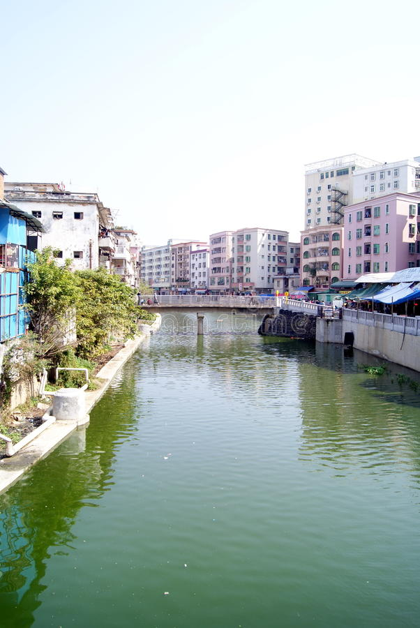 Download Rivers and old buildings stock image. Image of asia, water - 23252053