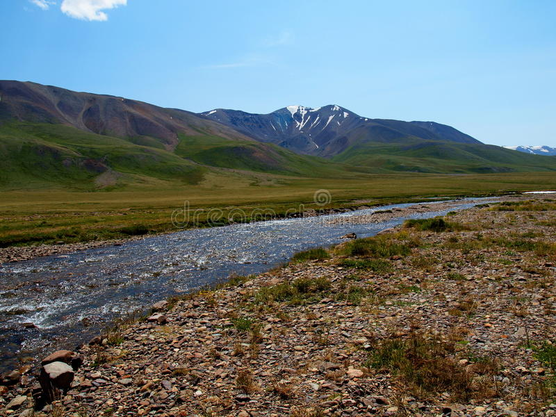 Download The Rivers Of Plateau Ukok, Mountain Altai Stock Image - Image of highland, mountain: 21647663