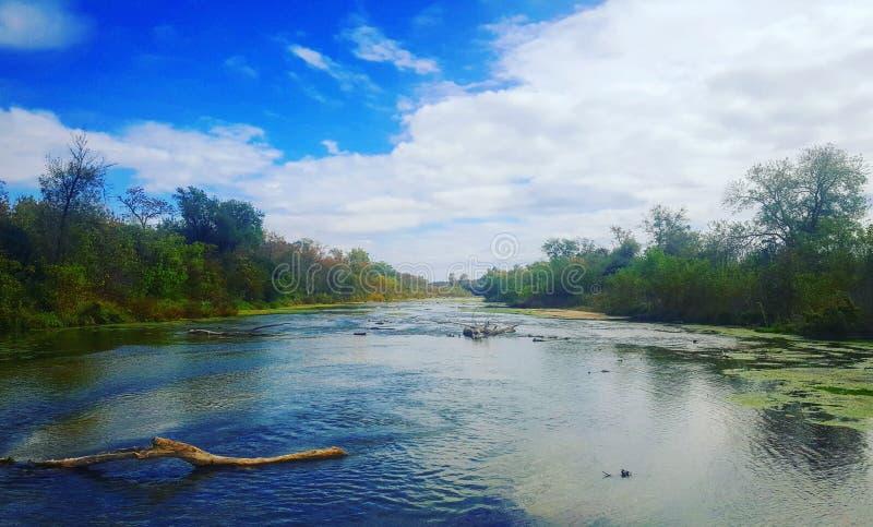 Riverscape imagens de stock