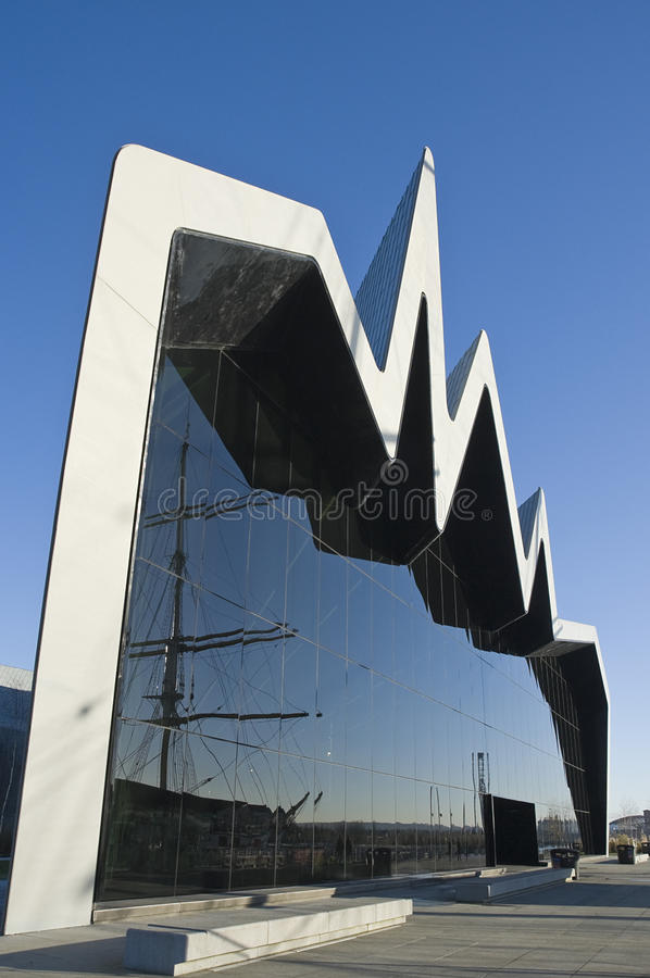 Riverside Museum, Glasgow stock images