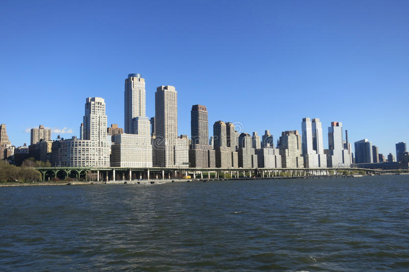 Riverside South in New York City stock photo