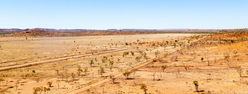 Riversleigh en el interior lejano Queensland fotos de archivo libres de regalías
