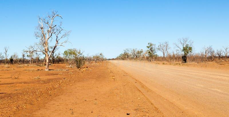 Riversleigh ver in binnenland Queensland stock fotografie