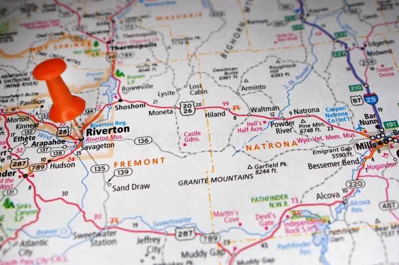 Riverton, Wyoming zdjęcie royalty free