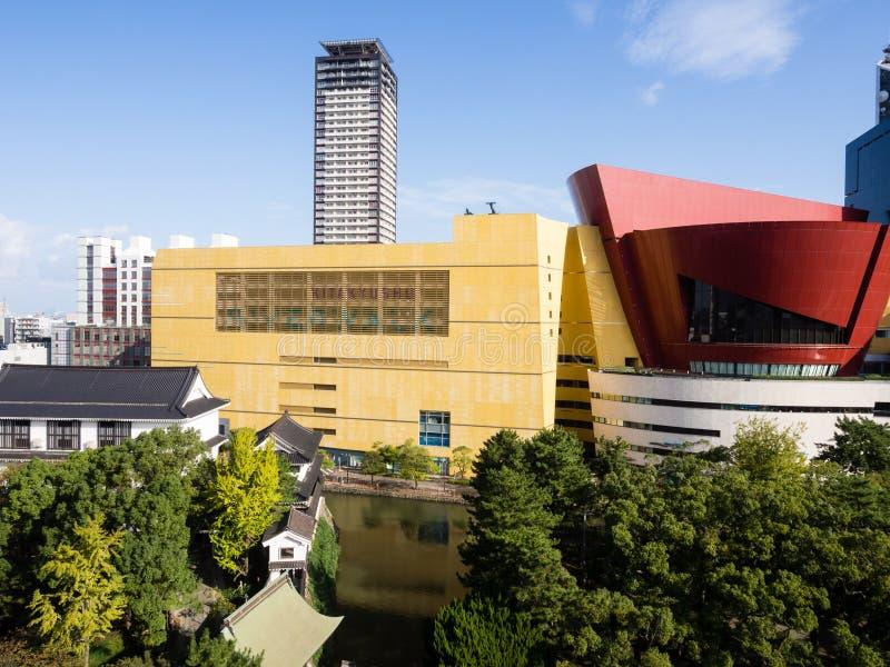 Riverwalk商城在北九州市,日本 免版税图库摄影