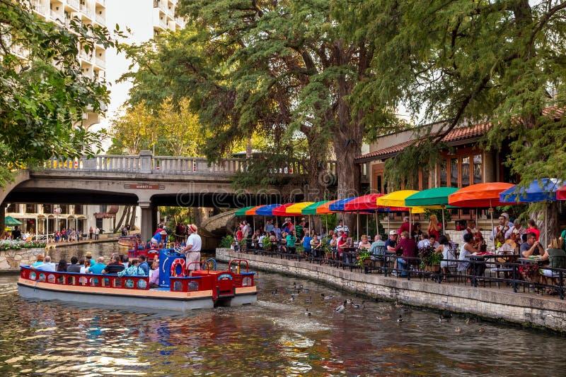 Riverwalk Сан Антонио стоковая фотография