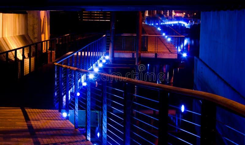 Download Riverwalk stock image. Image of path, pedestrian, lights - 23922865