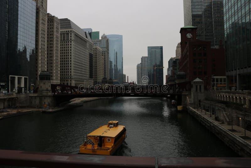 Riverwalk de Chicago fotos de stock royalty free