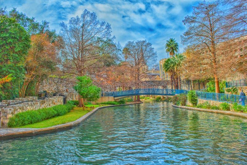 Riverwalk en San Antonio, Tejas imagen de archivo libre de regalías