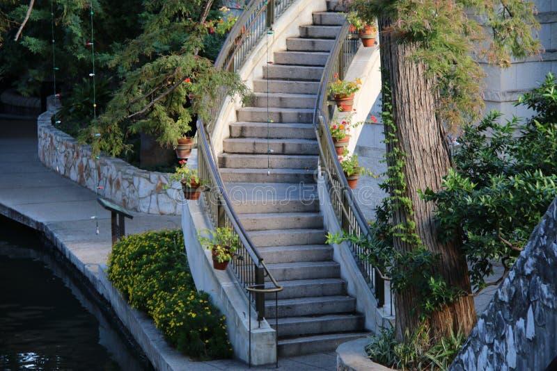 Riverwalk-San Antonio image libre de droits