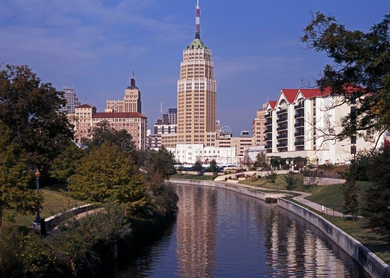 Riverwalk, San Antonio, il Texas. immagine stock libera da diritti