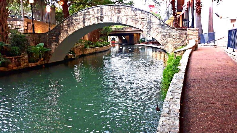 Riverwalk San Antonio imagens de stock