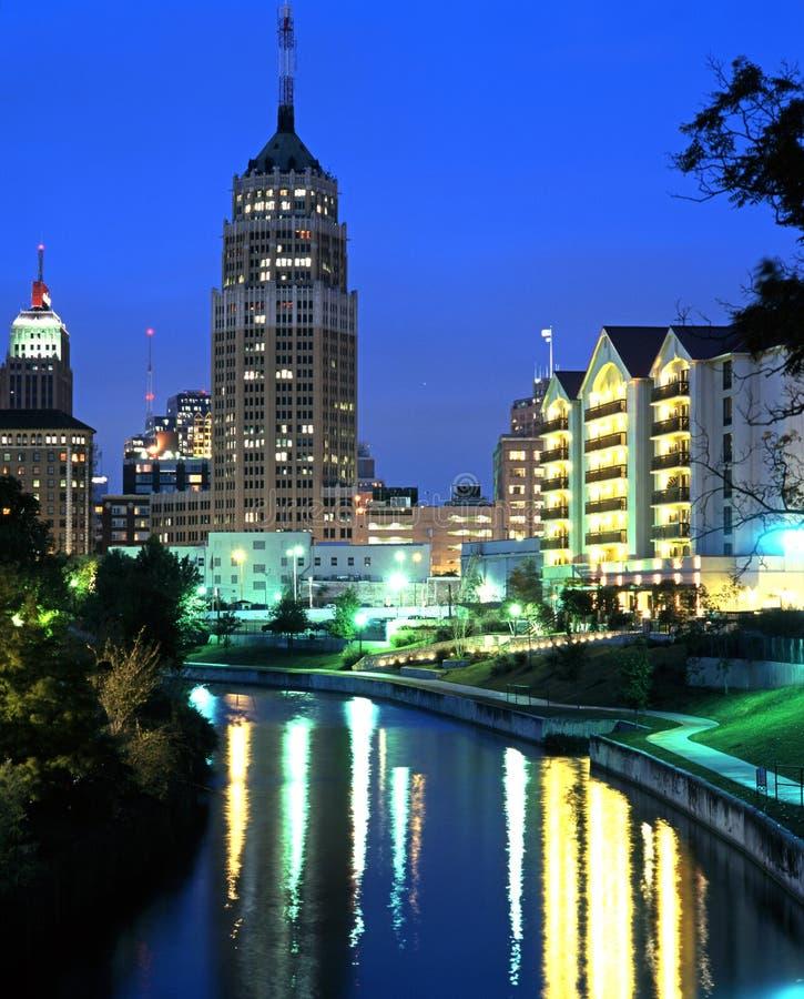 Riverwalk, San Antonio, Texas. stockbilder