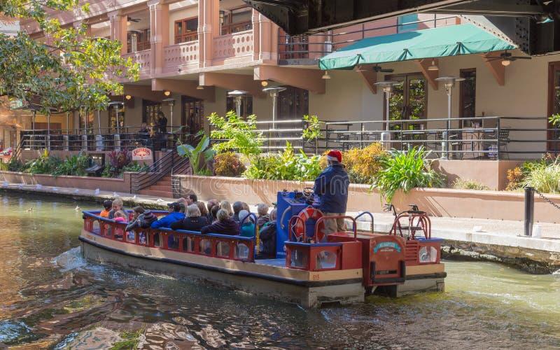 Riverwalk San Antonio Texas immagine stock libera da diritti