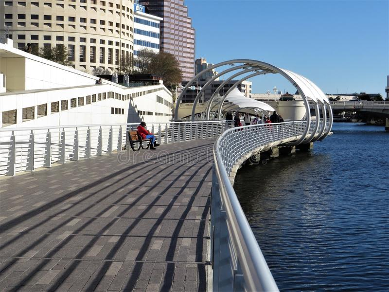Riverwalk, Tampa zdjęcia stock